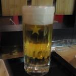 立ち呑み 浜伝 - 生ビール300円
