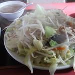 17430924 - 野菜炒め定食700円