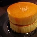 みじんこ - ホットケーキ シロップかけ
