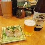 かなえ寿司 - 料理写真:ビール