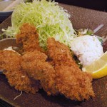 かつ金 - カキフライ定食