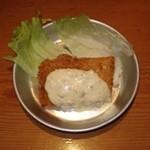 給食当番 - 白身魚のフライ