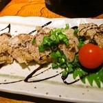 17434981 - 地鶏の炙り(バルサミコソース)