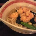 17435830 - 小海老の天ぷらうどん