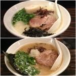 札幌 Fuji屋 - 友人オーダーの塩と醤油