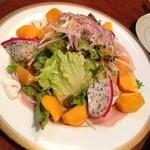 ダイニング膳 - 生ハムのサラダ