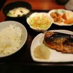 17436467 - 鯖の塩焼き定食は¥750だ~