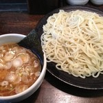 つけ麺 柾木 - 看板商品のつけ麺 730円。