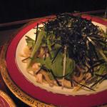 公界 - サメと水菜のシルク麺