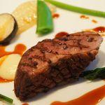エディション・コウジ シモムラ - 肉料理:鴨のポワレ