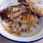 山田屋 - タレの染みたご飯は美味しかった