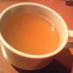 26号くるりんカレー - 今回はスープがサービス