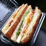 ラパン - 料理写真:ハムエッグ ¥126