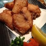 魚真 渋谷店 - ふぐの唐揚げ
