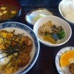 かわせみ - K社長が召し上がれた煮かつ定食
