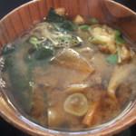 東京満月 - 味噌汁