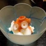 Fuuraibou - 河豚と蛸の梅肉和え湯ぶき