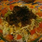守禮門 - 海人サラダ