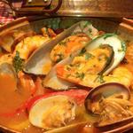 ポルトガリア - 当店自慢の『海の幸のカタプラーナ』 (魚介鍋)