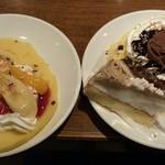 すたみな太郎 - 手作りクレープ(*^^*)苺とチョコver.