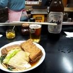 上田温酒場 - ビールと関東煮