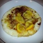 ヴォーノ・イタリア - オレンジとチョコのピザ