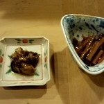 旬味 泰平 - 付だし 牡蠣&牛蒡