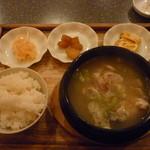 17452005 - 参鶏湯のランチ(980円)
