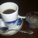 しんのすけ - カボスゼリーとコーヒー