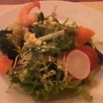 ノンノ - ランチセットのサラダ