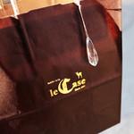 キッシュ専門店 レ・カーセ - 紙袋。 '13 1月上旬
