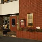 鶴池cafeレンガ館 - お店の入口