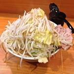 17456241 - 小ラーメン(野菜・ニンニク¥700)2/22/2013