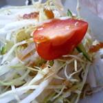 カフェ ポテリ - 前菜のサラダアップ