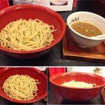 つけめん舎 一輝 - 「元味」つけめん舎一輝(愛知県岡崎市)食彩賓館撮影
