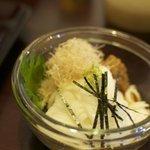 女鳥羽そば - 長芋と特製そば味噌