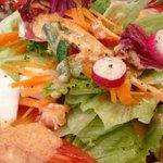 ジェノバ - 野菜サラダ(450円)