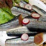 ジェノバ - 秋刀魚の燻製