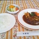 レストラン和蘭豆 - 料理写真:ランチハンバーグ 950円