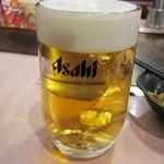 風月・風の街 - 生ビール