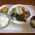 すてーしょん - 生姜焼き定食 900円