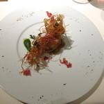17464121 - 馬鈴薯を纏った赤座海老
