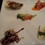 イタリア料理 イル・ヴィネイト - 前菜5種盛り