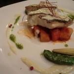 イタリア料理 イル・ヴィネイト - メイン料理:アイナメのソテー