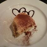 イタリア料理 イル・ヴィネイト - ドルチェ:ティラミス