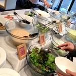 オリーブダイニング  - サラダ&惣菜ブッフェ。 '13 1月上旬