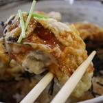 海賊亭 - カキ丼定食  牡蠣が大きくてぷりぷり~♪