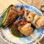 江戸政 - ピーマン肉詰め追加。