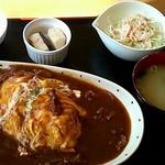 ブルーム - 料理写真:日替り(オムハヤシ)