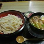 さぬきうどん若竹 - 豚バラ つけ麺 ¥900
